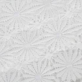 Скатерть «Белый ажур», ПВХ, 160x132 см