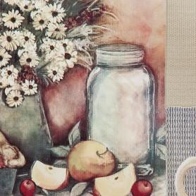 Скатерть «Кофе с молоком», ПВХ, 160x135 см