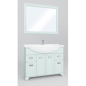Зеркало Aquaton «Шарм» 100 см, цвет зелёный