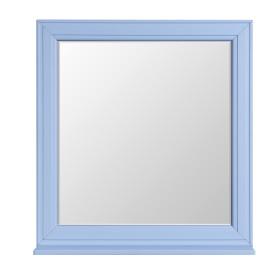 Зеркало Aquaton «Шарм» 75 см, цвет голубой