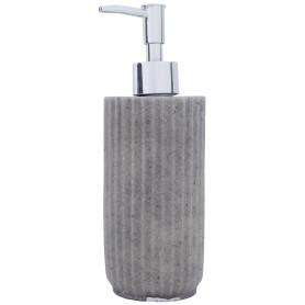 Дозатор для жидкого мыла «Cork», полирезина, цвет серый