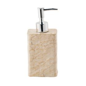 Дозатор для жидкого мыла «Playa», полирезина, цвет бежевый