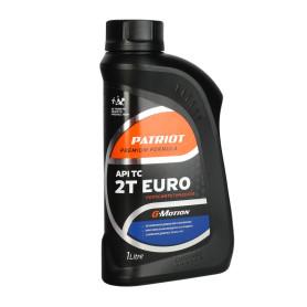 Масло моторное для двухтактных двигателей G-motion Euro полусинтетическое, 1 л