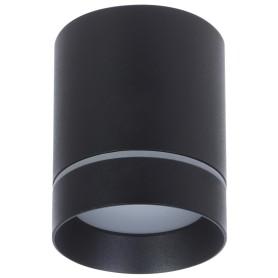 Светильник накладной светодиодный Elektrostandard DLR021, 9 Вт, 4200 К, цвет чёрный матовый, свет холодный белый