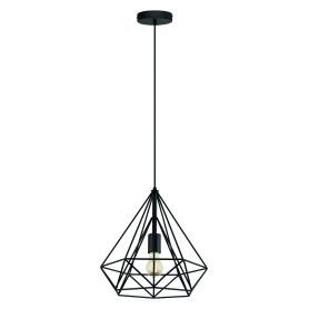 Светильник подвесной Byron, 1 лампа, 3 м², цвет чёрный