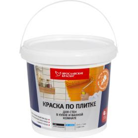 Краска по плитке для стен в кухне и ванной, 0.9 л