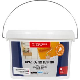 Краска по плитке для стен в кухне и ванной, 2.5 л