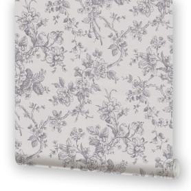 Обои на бумажной основе EcoStyle «Жуи 5», 53x10.05 м, цвет серый