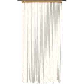 Штора нитяная Inspire, 150х280 см, цвет золотой