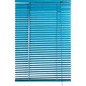 Жалюзи 50х155 см, алюминий, цвет голубой