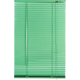 Жалюзи 50х155 см, алюминий, цвет зелёный