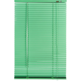 Жалюзи 60х155 см, алюминий, цвет зелёный