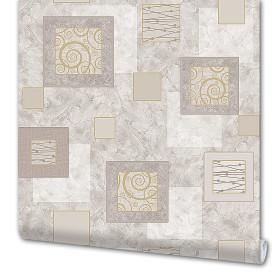 Обои «Грация», виниловые на бумажной основе, цвет серый, 0.53x10 м