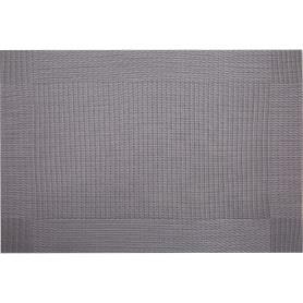 Салфетка сервировочная «Квадрэ 2», 30х45 см, цвет серый
