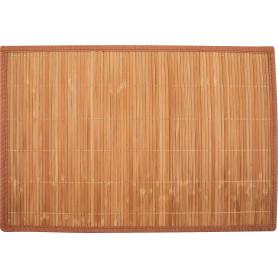 Салфетка сервировочная «Бамбук-1», 30х45 см, цвет коричневый