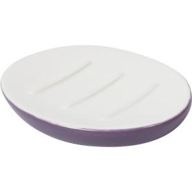 Мыльница «Trait» керамика цвет фиолетовый