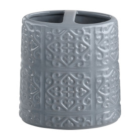 Стакан для зубных щёток Grey с разделителем