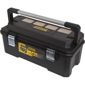 Ящик для инструмента Stanley 65х27х26 см пластик, цвет чёрный