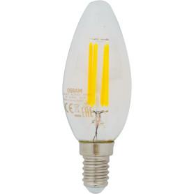 Лампа светодиодная Osram E14 220 В 5 Вт свеча 660 лм, тёплый белый свет