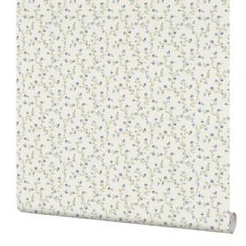 Обои флизелиновые Rasch Lazy Sunday белые 0.53 м 400915