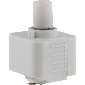 Адаптер для подключения любого подвеса к трековой системе, цвет белый