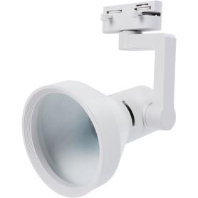 Трековый светильник «Nido» со сменной лампой Е27 60 Вт, 3 м², цвет белый