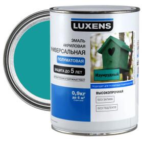 Эмаль универсальная Luxens 0.9 кг изумрудный
