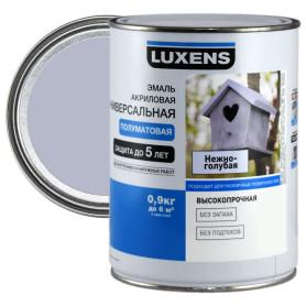 Эмаль универсальная Luxens 0.9 кг нежно-голубой