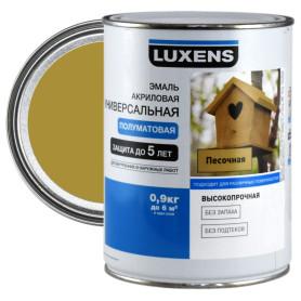 Эмаль универсальная Luxens 0.9 кг. песочный