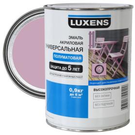 Эмаль универсальная Luxens 0.9 кг розовая лаванда