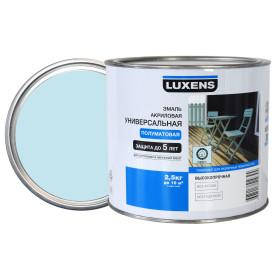 Эмаль универсальная Luxens 2.5 кг тиффани