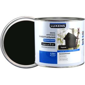 Эмаль универсальная Luxens 2.5 кг чёрный