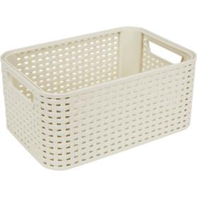 Корзина Style Box S, цвет кремовый