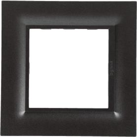 Рамка для розеток и выключателей Legrand Structura 1 пост, цвет магнезиум
