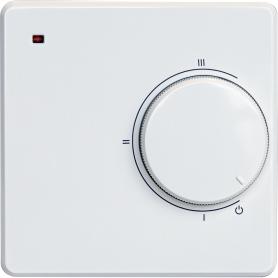 Терморегулятор механический LC001, цвет белый