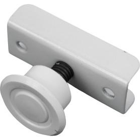Опора M8 регулируемая под плиту 16 мм, металл, цвет белый, 2 шт.