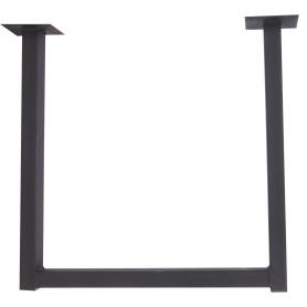 Подстолье для журнального стола Лофт, 400 мм, цвет чёрный