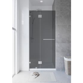 Душевая дверь «Классика» тонированная распашная 100x195 см