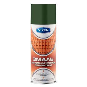 Эмаль аэрозольная для металлочерепицы и профнастила Vixen 500 мл, цвет зелёный мох