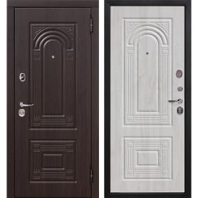 Дверь входная металлическая Флоренция, 860 мм, правая, цвет белёный дуб