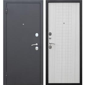 Дверь входная металлическая Гарда Муар, 960 мм, левая, цвет дуб сонома