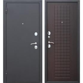 Дверь входная металлическая Гарда Муар, 860 мм, левая, цвет венге