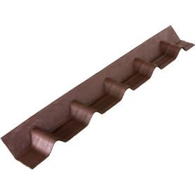 Фартук покрывающий Ондувилла 3D коричневый