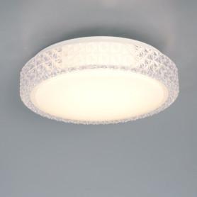 Светильник настенно-потолочный светодиодный Saphir, 12 м², белый свет, цвет белый