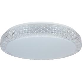 Светильник потолочный светодиодный Saphir, 25 м², белый свет, цвет белый