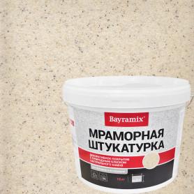 Штукатурка мраморная Bayramix «Magnolia White-N» 15 кг