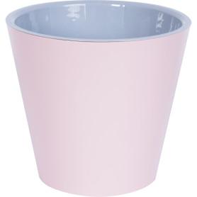 Горшок цветочный «Фиджи» D16, 1, 6л., пластик, Розовый