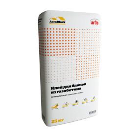 Клей для газобетона Aeroblock, 25 кг