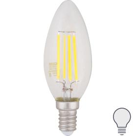 Лампа Filament свеча Е14 5 Вт 450 Лм 4100К