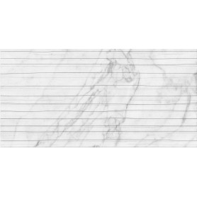 Плитка настенная Wave Marble 60x30 см 1.62 м2 цвет белый матовый